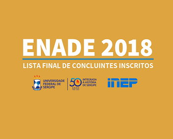 Enade: lista final de inscritos